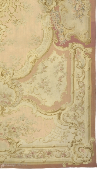 """Antique French Aubusson Rug France ca. 1860 28'10"""" x 16'2"""" (880 x 493 cm) FJ Hakimian Reference #02559"""