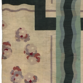 """French Savonnerie Art Deco Rug France ca. 1920 23'1"""" x 12'11"""" (705 x 394 cm) FJ Hakimian Reference #03138"""