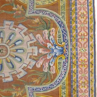 "Antique Spanish Cuenca Rug Spain ca.1790 25'6"" x 18'7"" (778 x 567 cm) FJ Hakimian Reference #03224"
