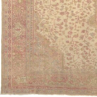 "Antique Turkish Borlou Rug Turkey ca.1910 13'2"" x 10'3"" (402 x 313 cm) FJ Hakimian Reference #04110"