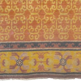 "Antique Khotan Rug East Turkestan ca.1900 6'1"" x 3'10"" (186 x 117 cm) FJ Hakimian Reference #08048"