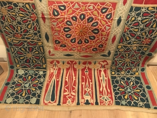 Egyptian Khayamiya Textile 185 x 340 cm.