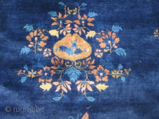 Antique Peking Chinese Rug.
