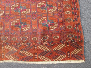 Antique TEKKE turkoman RUG.