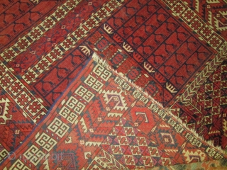 Antique Yomud Turkoman Rug.