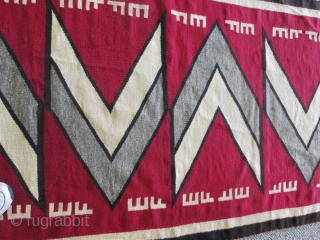 Old Navajo Rug.