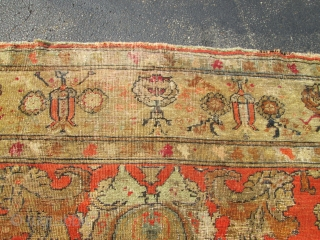 Antique Turkish Oushak.