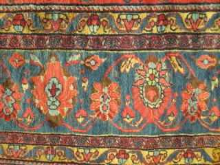 Awesome Antique North West Of Persian.  size 12'x18' large rug.