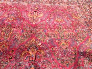 Lovely Antique Persian Sarouk.