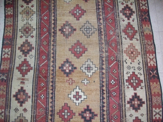 Northwest Persian Runner...Pretty camel hair background and nice figures...Please contact to ask further questions...