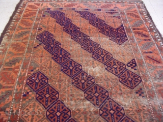 "Baluch Rug 4'10 by 2'8"" ft"
