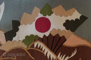 Japanese Fukusa ( Gift Wrapper) Meji period Japan 62 cm x 69 cm