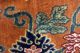 Tibetan rug early 20th century 0,60 m x 0,84 m