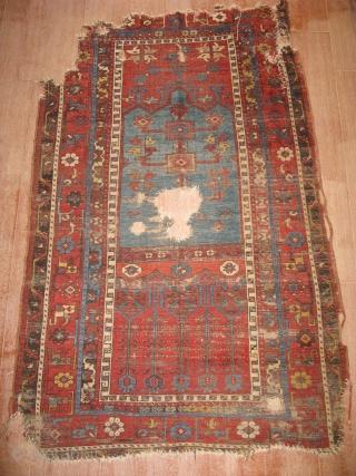 Anatolian Konya ladik carpet size 200x124