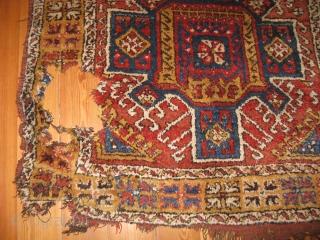 1254-Konya carpet fragment 176x123