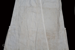 Angarakha Man(Costume)Fine Cotton From Rajasthan India.C.1900.Worn by Royal Family of Rajasthan.(DSLR02970).