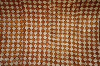 Vintage Phulkari From West(Pakistan)Punjab India Called As Bagh.One of the rare design in Indian Phulkari.(DSC01360).