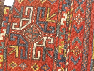 Antique Uzbek napramach, glorious natural colours.
