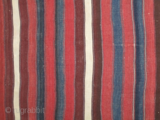 Northwest Anatolian kilim fragment....Balikshir/Bergama area....circa 1875....