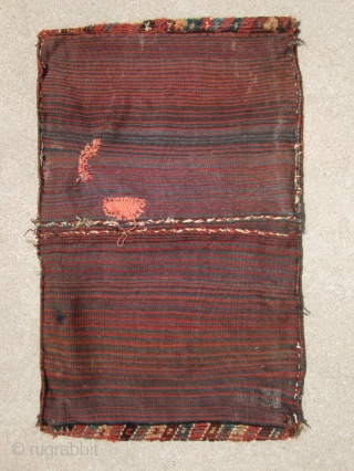 Complete Baktiari saddlebag ....19th C.....all veg dye...