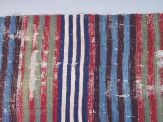 Northeast Anatolian kilim fragment ( Erzurum area ?)....circa 1825....