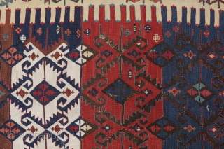 Nice Anatolian kilim. part of collection being sold  173x366, 5.8x12.0
