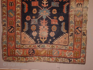 oldest karabagh caucasian, I have seen, wonderful drawing, great natural colors, it has wear as is clear, no repairs!