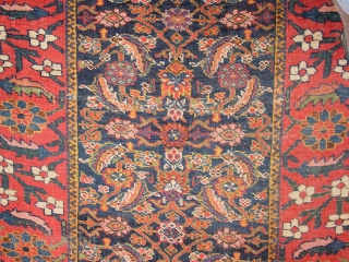 now on ebay.com/itm/392770406139   fabulous 1890 caucasian karabagh runner, marvellous natural colors, not perfectly rectangular, two places of work to make it lay flat, compolete and good headends and selvedges, low  ...