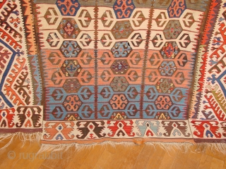 some small damage, no so obvious, great natural colors, less beautiful one was auctioned in the rippon and boswells 25 nov 2015 also theree panel konya