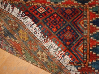 wonderful large 1880 jaff kurdish bagface 