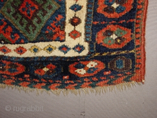 wonderful top jaff kurdish bagface, wonderful silky wool, great natural colors, all ends secured , clean, no tears, no holes, no stains, collectors piece