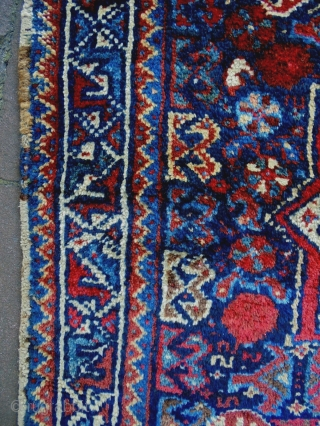 Kamseh Bagface Size: 60x60cm Natural colors, made in period 1910/20