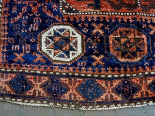 Baluch Bagface Size: 81x73cm Natural colors, made in period 1910