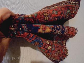 19th Century Kurdish Bagface Size: 42x29cm Natural colors