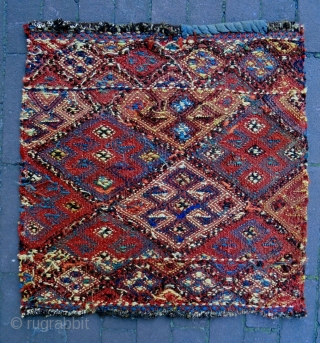 19th Century trebal jaf Soumakh Bagface