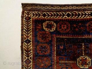 19th Century Baluch Bagface Size: 82x69cm Natural colors