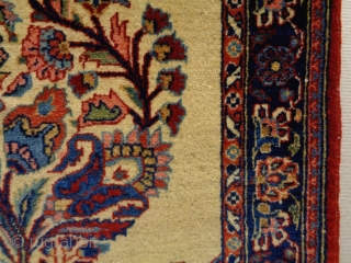Very Fine Persian small rug