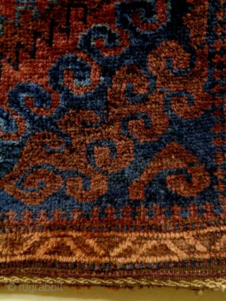 Baluch Bag Complete Size: 65x64cm Natural colors, made in circa 1910/20