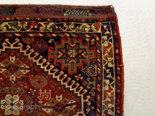 Very Fine Qasqhay Bagface