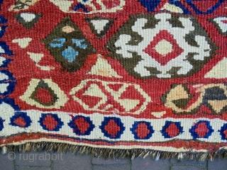 Monastir/Kurdish Kelim Bagface Size: 75x66cm Natural colors, made in period 1910, there is old repair