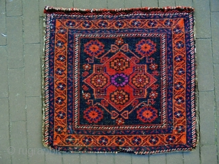 Rare Pattern Baluch Bagface
