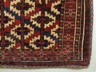 19th Century Mint Condition Asmalik Drawn Youmuth Size: 115x73cm Natural colors, it is used to be hung up.