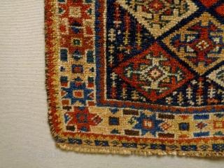Kurdish Bagface Size: 54x54cm Natural colors, made in circa 1910/20