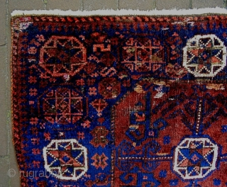 19th Century Baluch Bagface Fragment