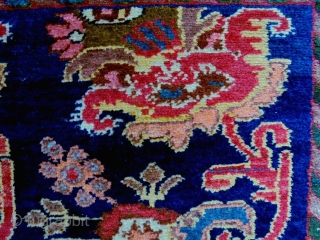 Kurdish Rug Size: 110x150cm Natural colors, made in period 1920