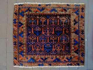 Baluch Bagface and Bag Complete Size: 52x45cm Made in period 1910/20