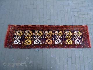 19th Century Ersari Penjerelik Size: 150x43cm