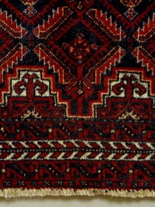 Salar Kahni Baluch Size: 85x90cm circa 80 years old