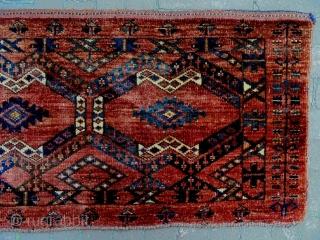 19th Century Ersari Penjerelik Size: 183x47cm Natural colors