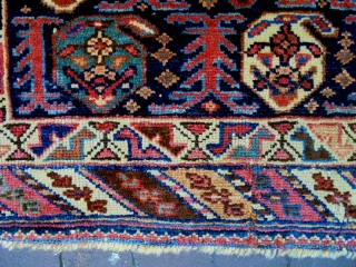 19th Century Special Fine Afshar Boteh Bagface